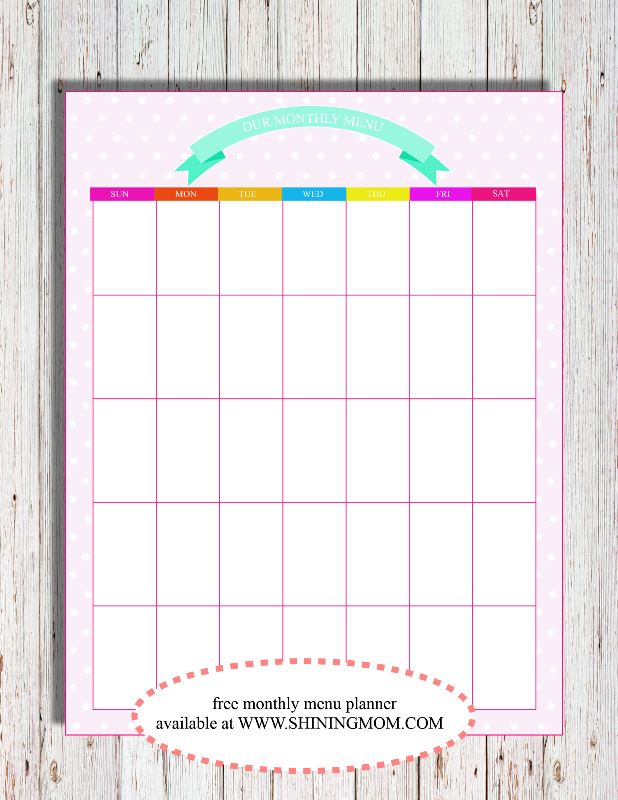 free meal planner 2