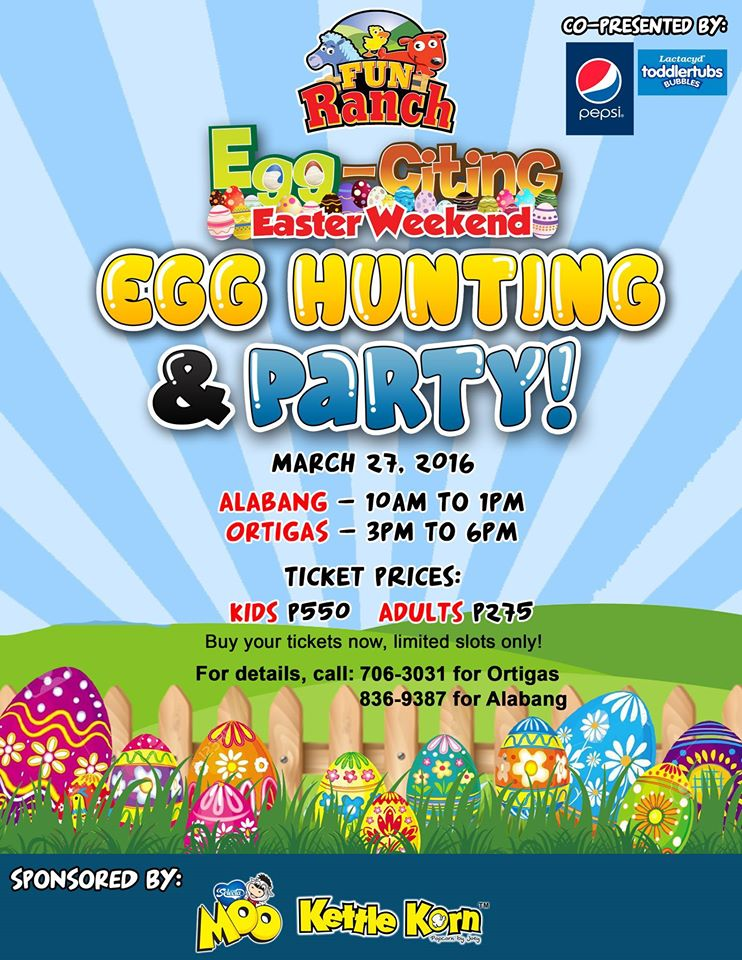 easter egg hunt activities 2016 manila
