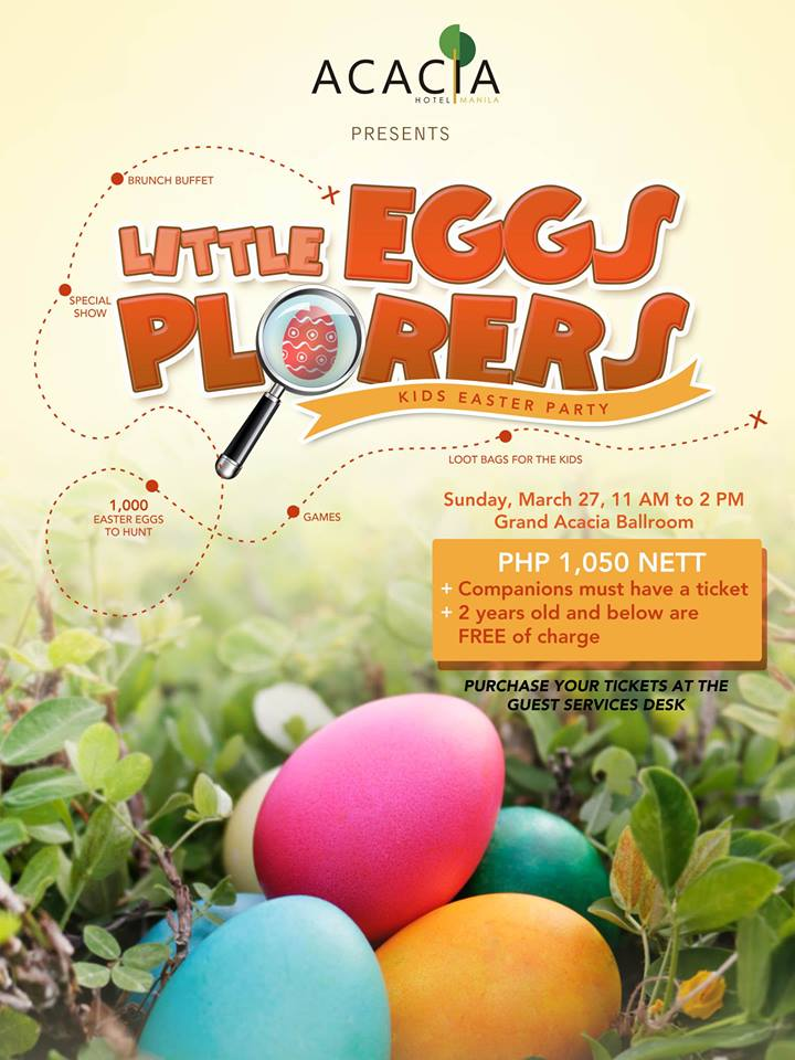 easter egg hunting manila