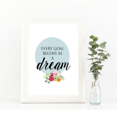 FREE Printable Quotes for Your Walls {Truly inspiring!}