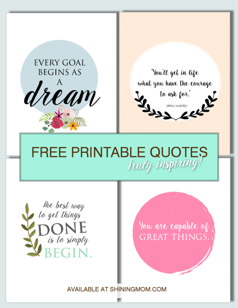free printable quotes