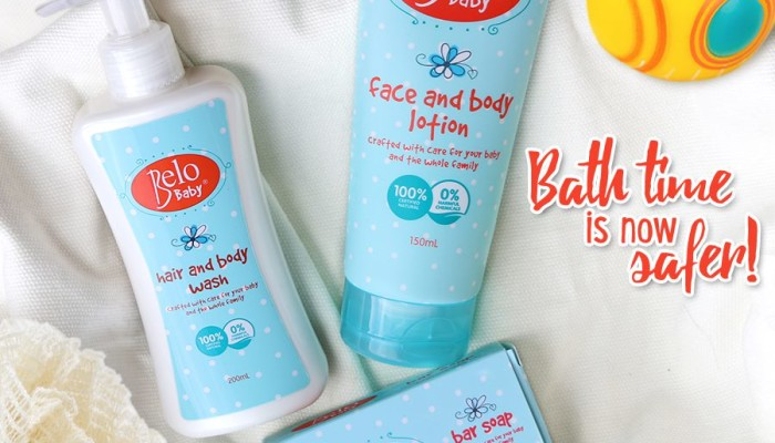 Belo Baby Launches All-Natural Skin Care Products for Babies!