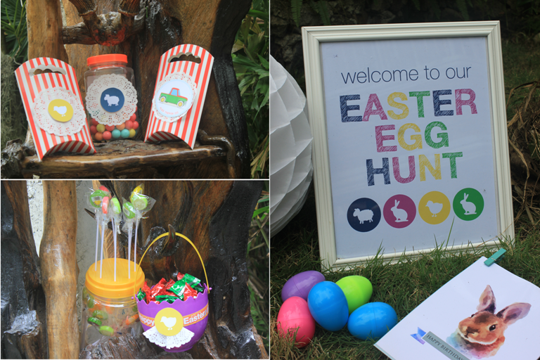 Easter Egg Hunt Birthday Party
