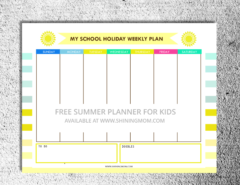 free printable summer activity planner for kids (2)