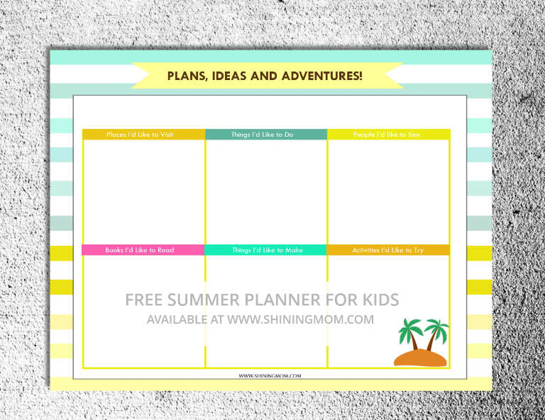 free printable summer activity planner for kids (3)