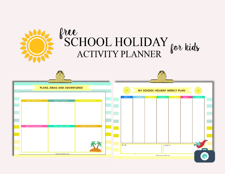 Get summer sorted with our new Free School Holiday Activity Planner!