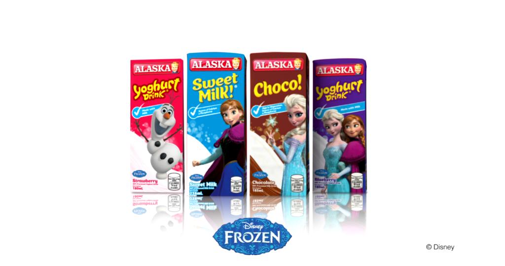 Frozen-themed Packs