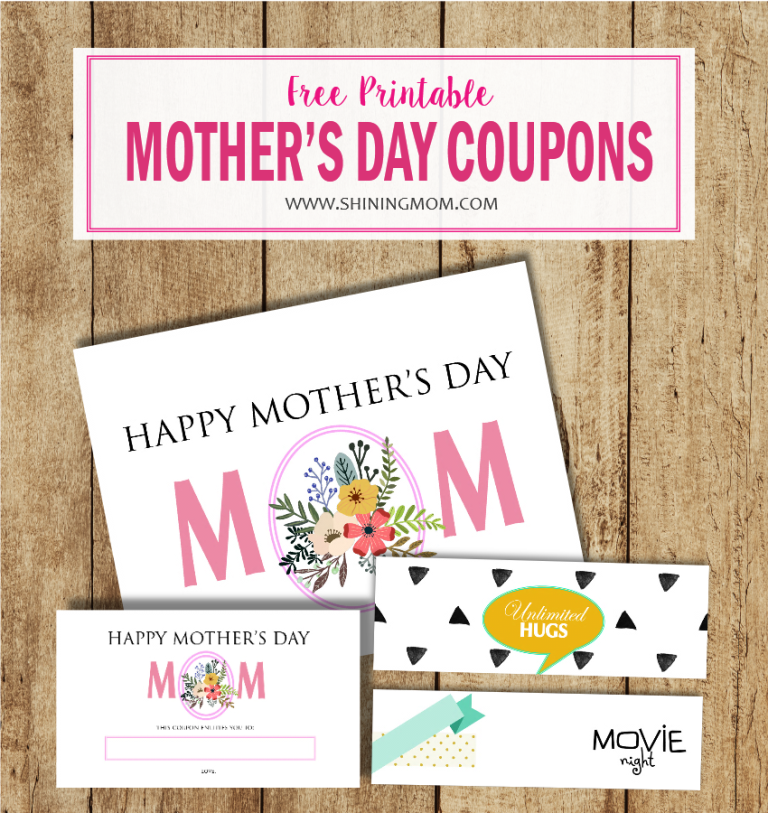 free printable mother's day coupon