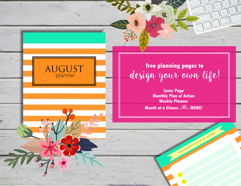 August-Planner via Shining Mom