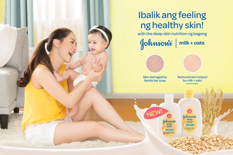 Johnson's Milk + Oats - Ibalik Ang Feeling Ng Healthy Skin