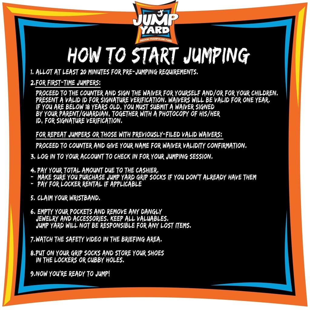 JumpYard Guidelines