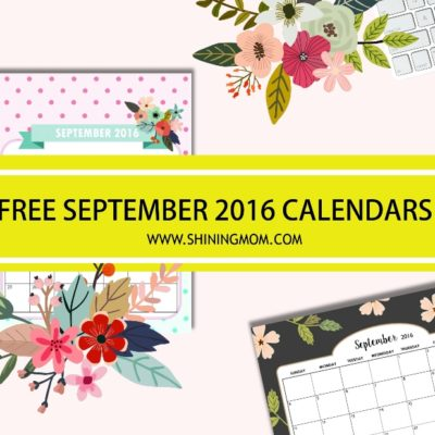 All Lovely: Free September 2016 Calendars!