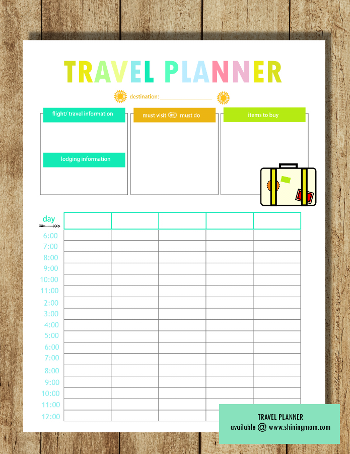 free travel planner preview