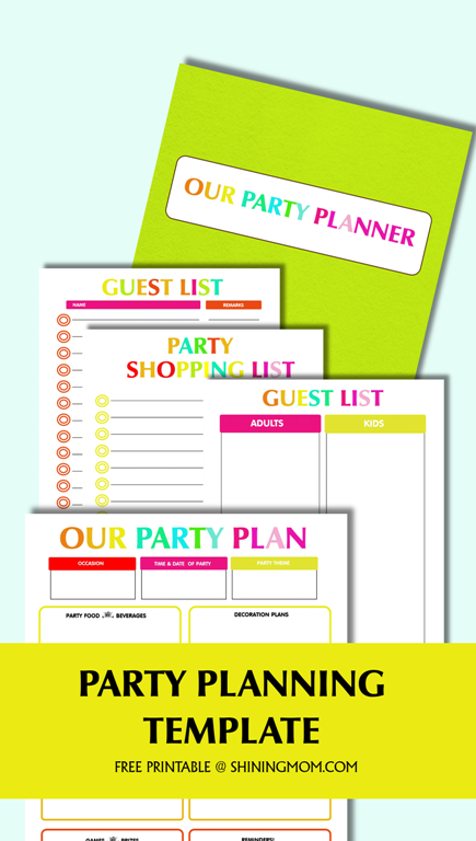 free-party-planning-template