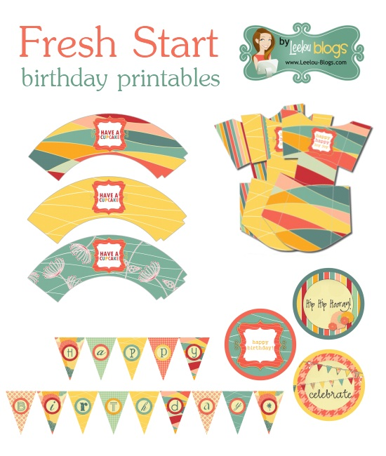 fresh start birthday printables