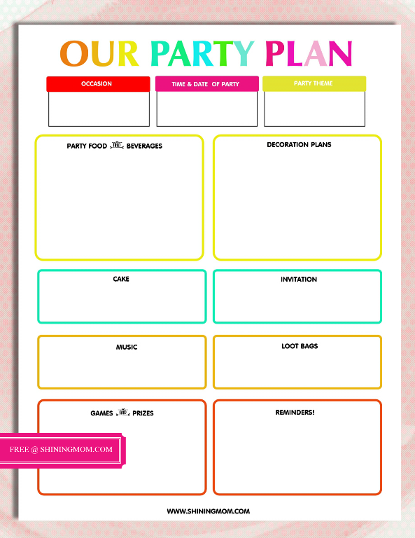 party-planner-template