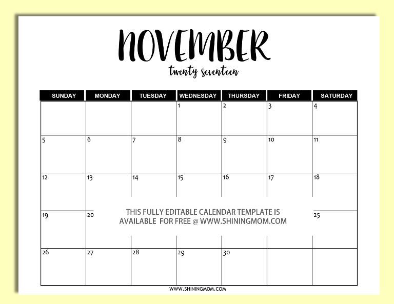 2017-editable-november-calendar-template-in-word