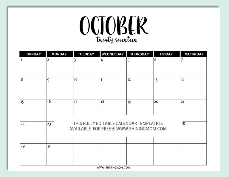 2017-editable-october-calendar-template-in-word