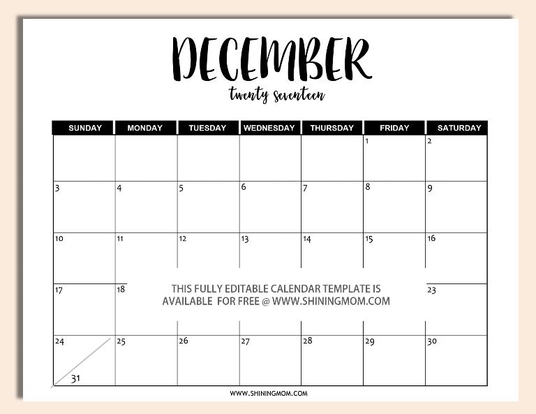 editable-december-2017-calendar-template-in-word