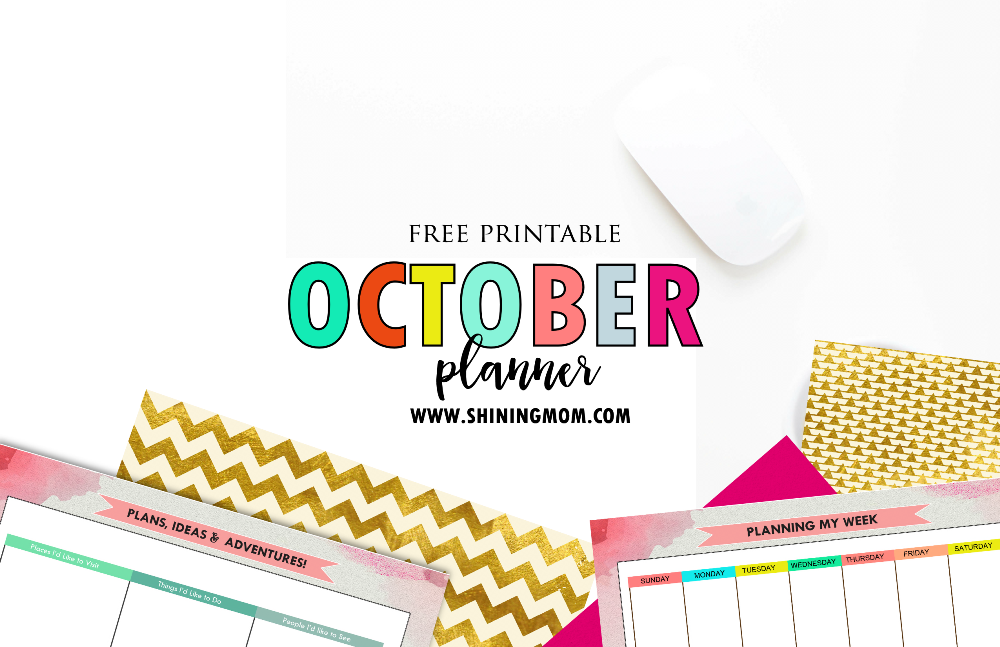 free-october-planner