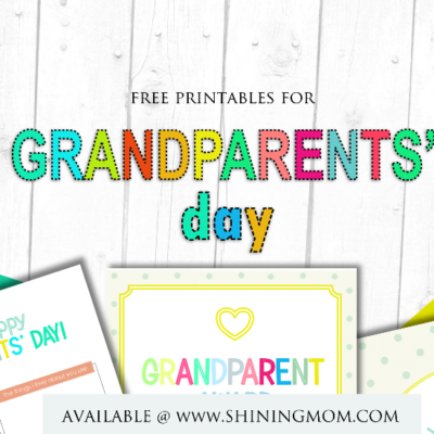 Fun and Sweet Grandparents' Day Free Printables!