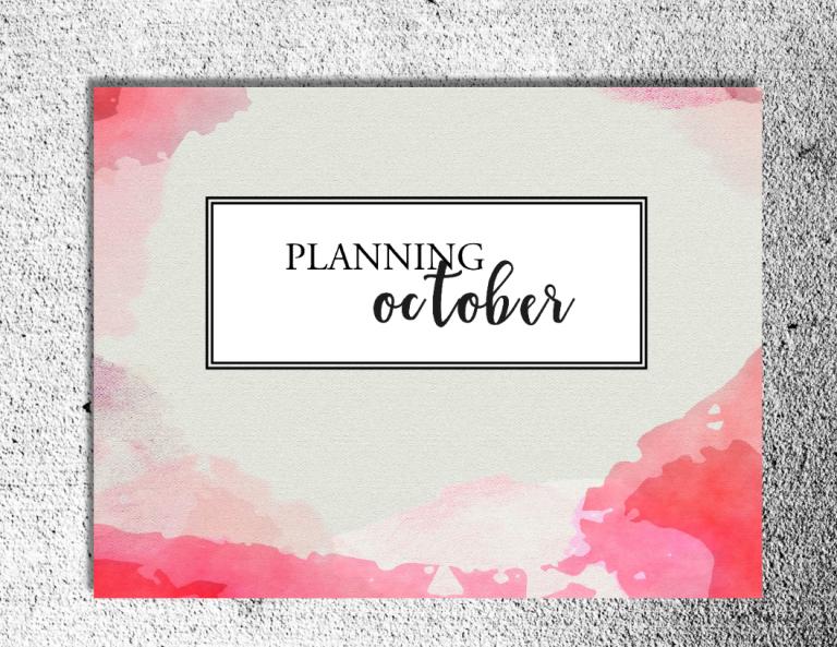octber-planner