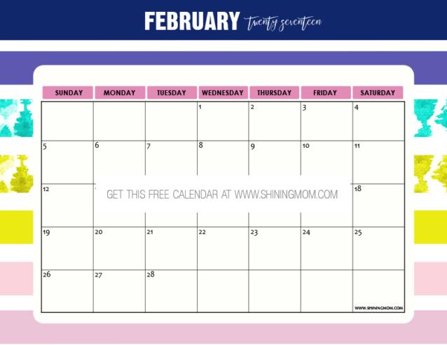 free-printable-february-2017-calendar