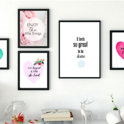 Prettify Your Home: 12 New Free Printable Wall Art