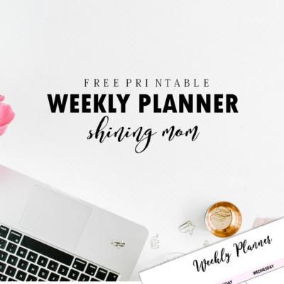 Ultimate Set of Free Printable Weekly Planner