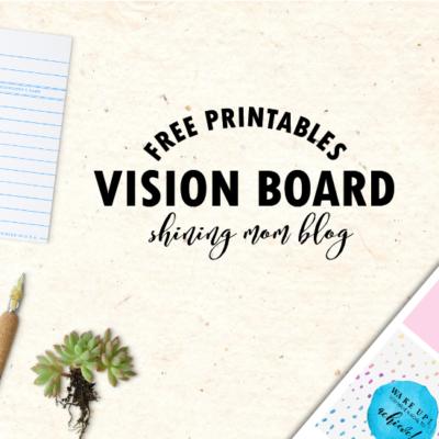 Vision Board Free Printables