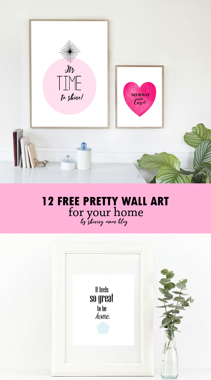 Free Printable Wall Art To Prettify Your Home