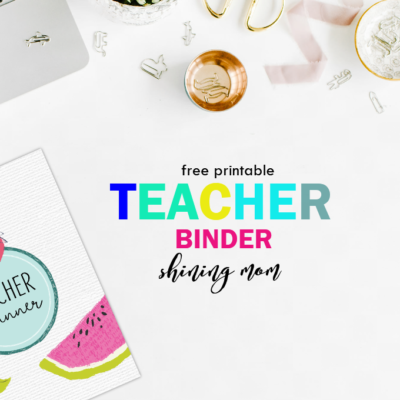 Free Teacher Binder Printables: Over 25 Pretty Planning Templates!