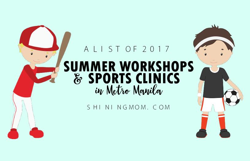 summer workshops in metro Manila