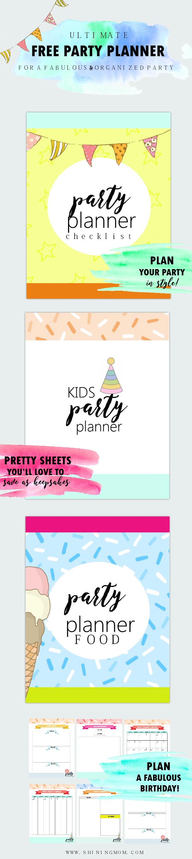 Free Birthday Planner