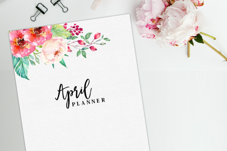 Free Monthly Planner: Plan an Awesome April!