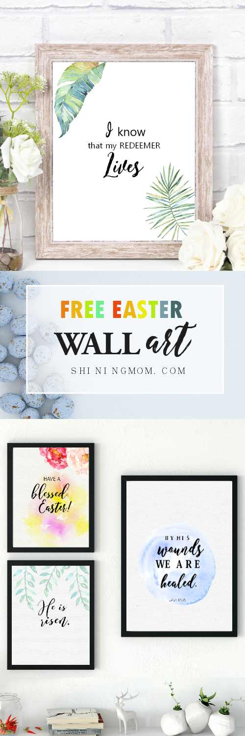 Easter decorations, Easter decor wall art