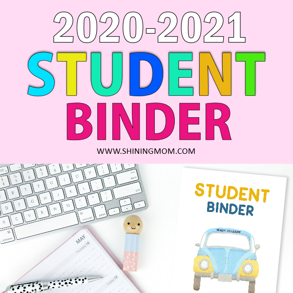 Free Printable Student Binder: Over 25 Excellent Planning