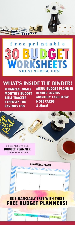 Budget planner 2018