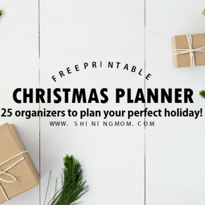 FREE Christmas Planner: 25 Brilliant Holiday Organizers!