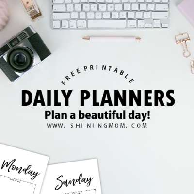 FREE Daily Planner Templates You'll Fall In Love With