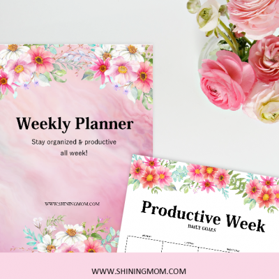 Free Weekly Planning Templates: 15 Beautiful Designs!