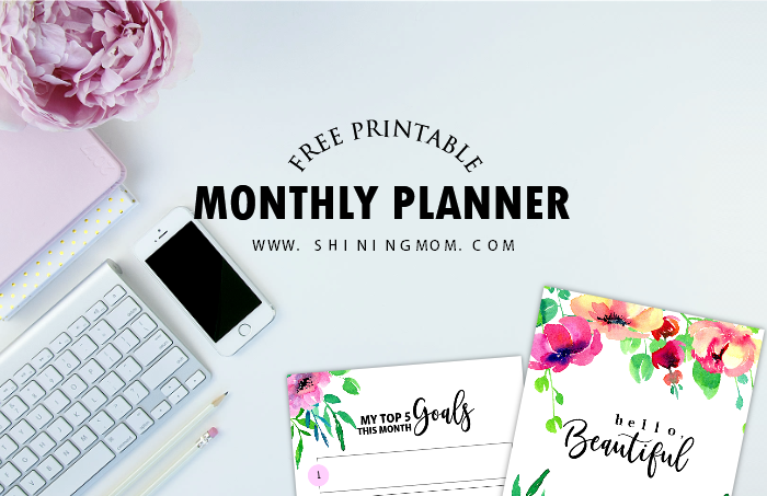 monthly planner printable