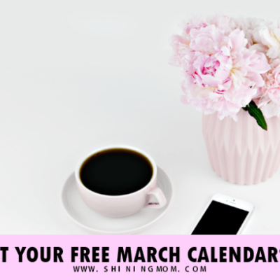 Free March 2018 Calendars: 6 Designs to Love!