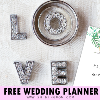 Free Printable Wedding Planner with Checklist!