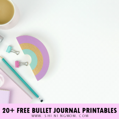 Free Bullet Journal Printables: 20+ Cute Templates (Updated)!