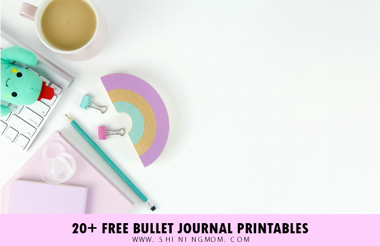 Free Bullet Journal Printables: 20+ Super Cute Templates!