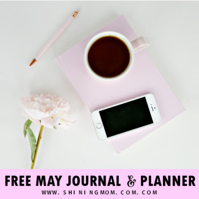 Free May Journal and Planner in Tropical Lush!