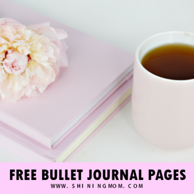 12 Beautiful Monthly Bullet Journal Cover Pages (FREE)