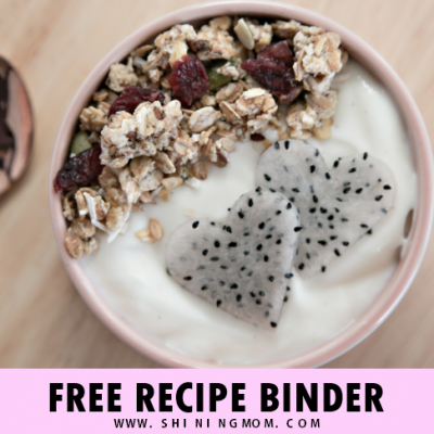 Free Printable Recipe Binder: 25  Organizers for Your Kitchen!