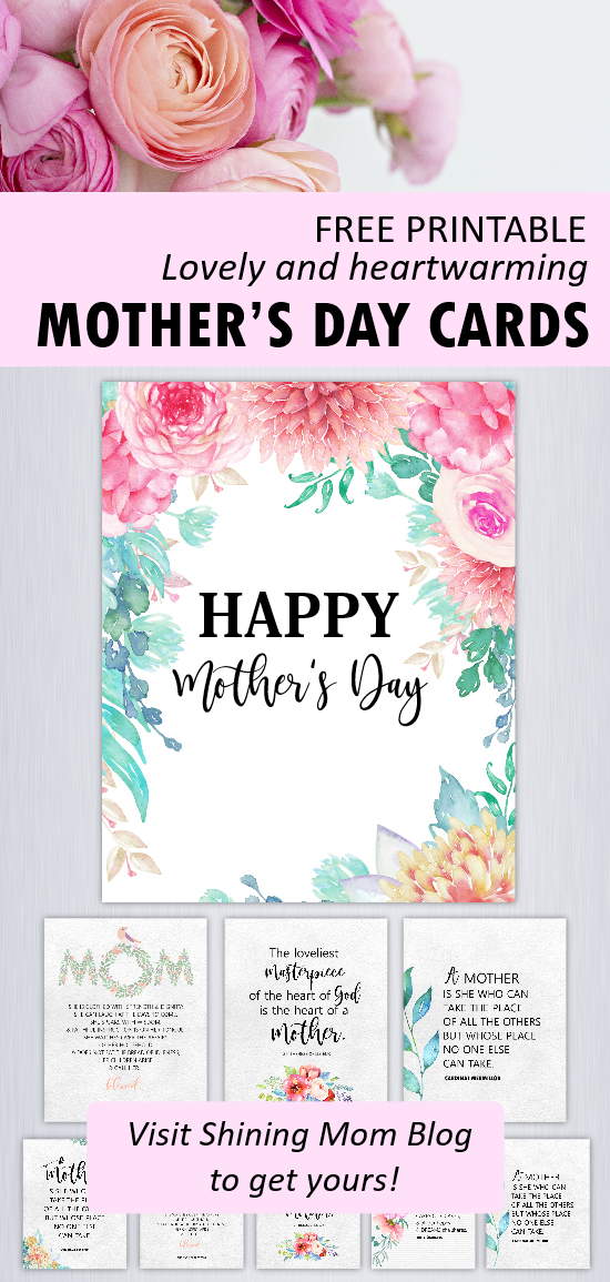 picture regarding Printable Mothers Day Quotes identified as 12 No cost Moms Working day Estimates and Playing cards toward Satisfaction a Mothers Centre!